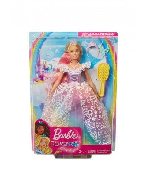 Lalka Barbie - Bajeczna Księżniczka Dreamtopia wiek 3+