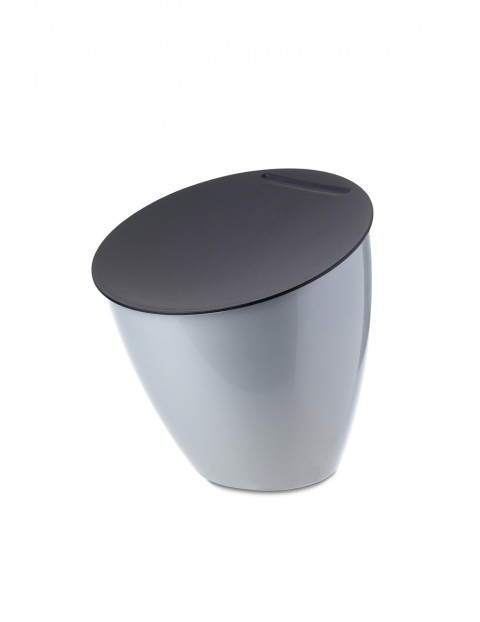 Kosz na odpadki CALYPSO- silver 2,2 L
