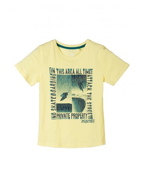 T-shirt chłopięcy 100% bawełna 2I3453