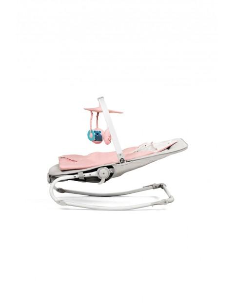 Leżaczek niemowlęcy FELIO różowy