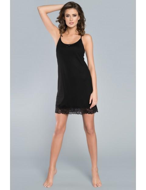 Koszula nocna damska Furia - czarna