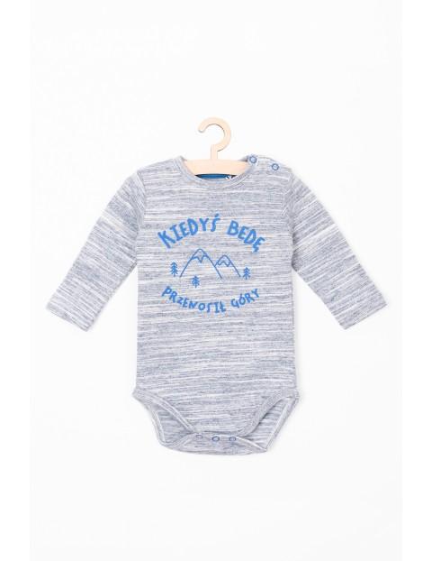Body dla niemowlaka- Kiedyś będę przenosił góry