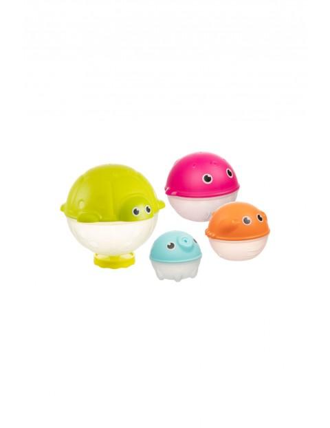 Zestaw kreatywnych zabawek do kąpieli z deszczownicą 4 szt wiek 12msc+