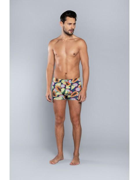 Bokserki męskie w kolorowe owoce Italian Fashion