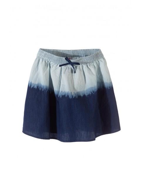 Spódnica dla dziewczynki- niebieska cieniowana