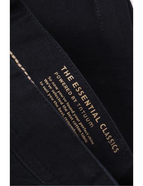 Czarne męskie z dodatkowymi kieszonkami - czarne