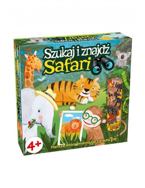"""Gra planszowa """"Safari Szukaj i Znajdź"""" 4+"""