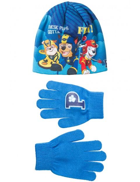 Czapka + rękawiczki Psi Patrol 1X35AK