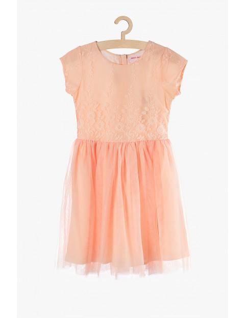 Elegancka tiulowa sukienka dla dziewczynki