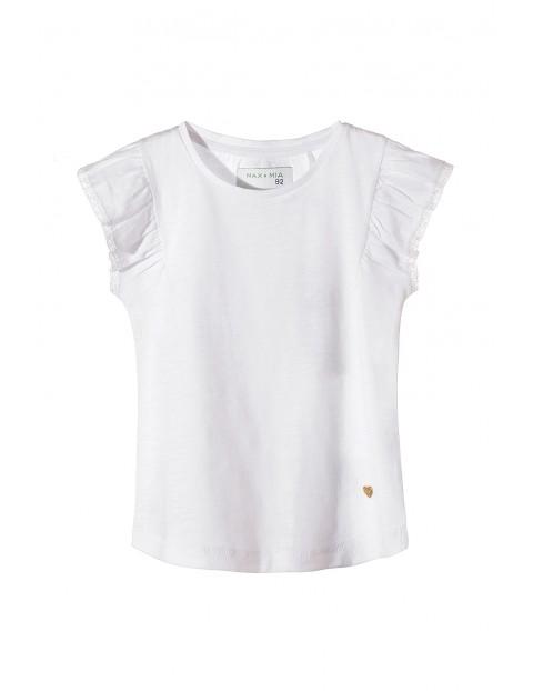 T-shirt dziewczęcy 100% bawełna 3I3414