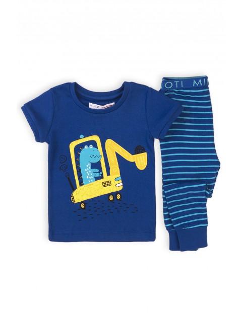 Piżama niemowlęca z koparką