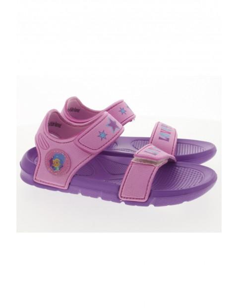 Fioletowe sandały dla dziewczynki