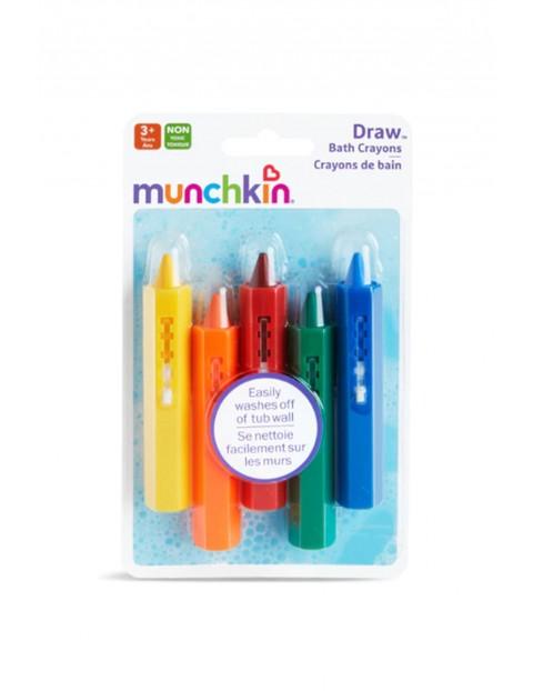 Kolorowe kredki do kąpieli Munchkin 36msc+