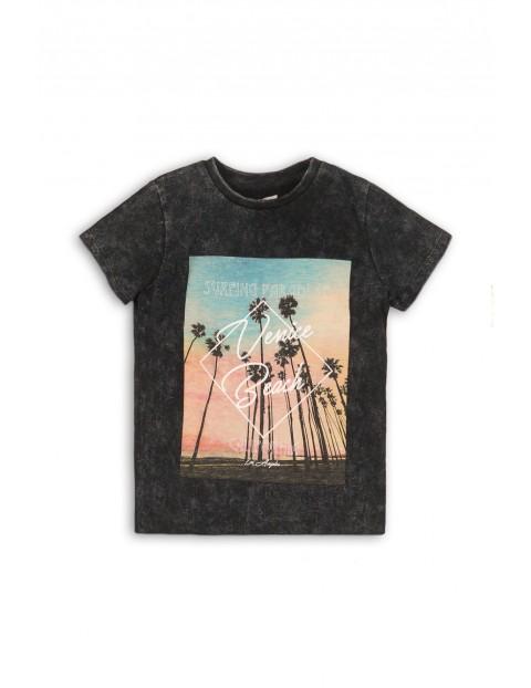 T-shirt chłopięcy z kolorowym nadrukiem