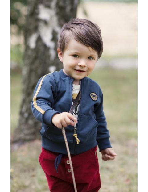 Bluza rozpinana dla niemowlaka Secret Forest granat