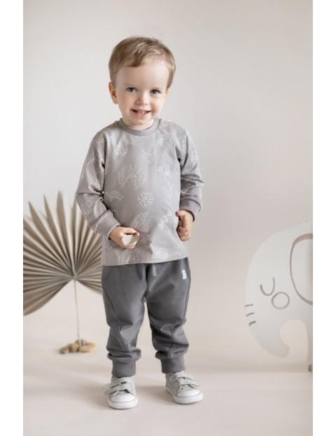 Bluzka niemowlęca z długim rękawem SLOW LIFE