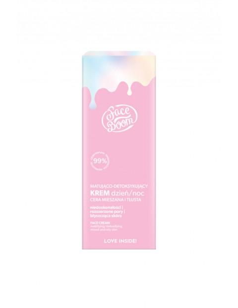BB FaceBoom Matująco-detoksykujący krem dzień/noc - cera mieszana/tłusta 50 ml