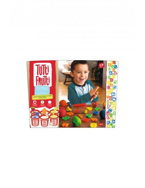 Kubełek pełen literek i cyferek Tutti Frutti