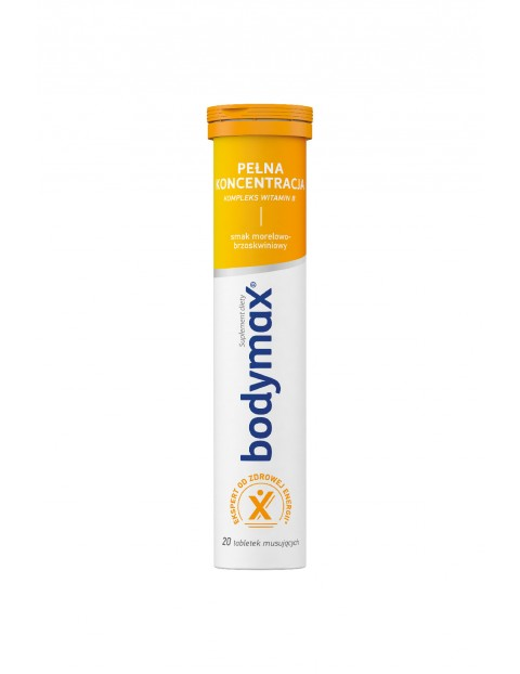Bodymax PEŁNA KONCENTRACJA 20 tabletek musujących