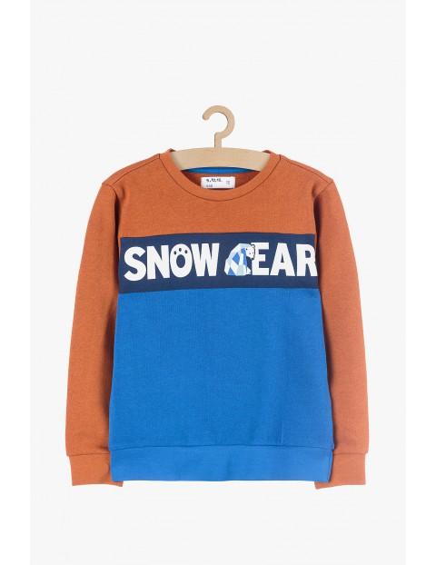 Bluza dresowa bawełniana Snow Bear