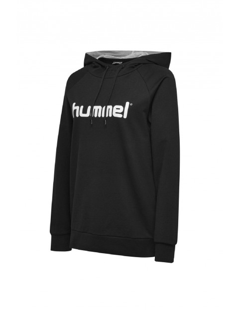 Bluza dresowa damska z kapturem Hummel - czarna