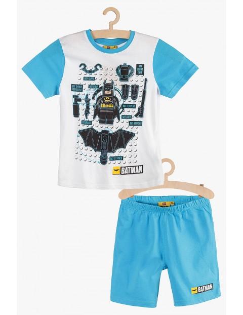 Pidżama chłopięca Lego Batman niebiesko-białe rozm 140