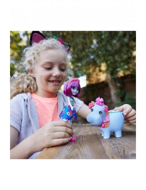Lalka ze zwierzątkiem - Hipopotam wiek 4+