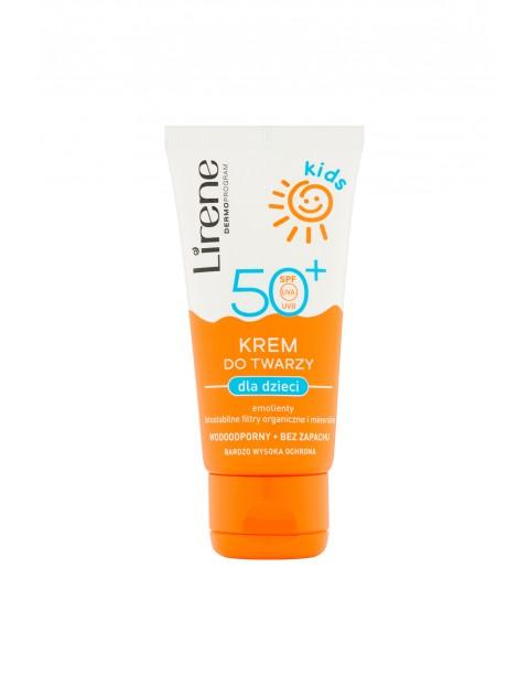 Lirene Kids Krem do twarzy dla dzieci SPF50+ 50ml
