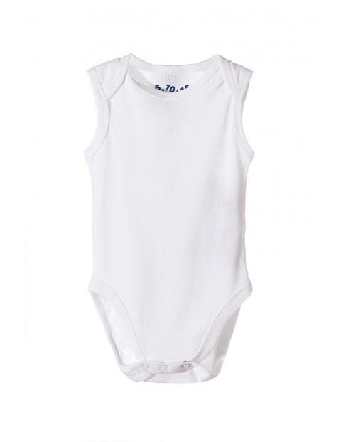 Body białe dla niemowlaka 5W9803