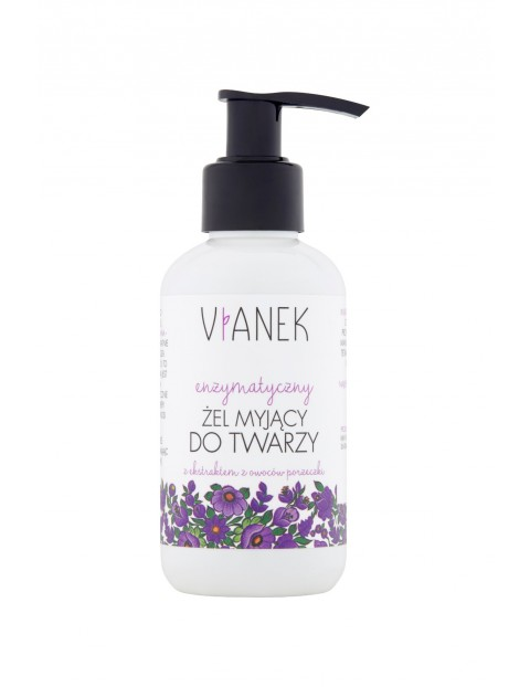 Enzymatyczny żel myjący do twarzy Vianek 150 ml
