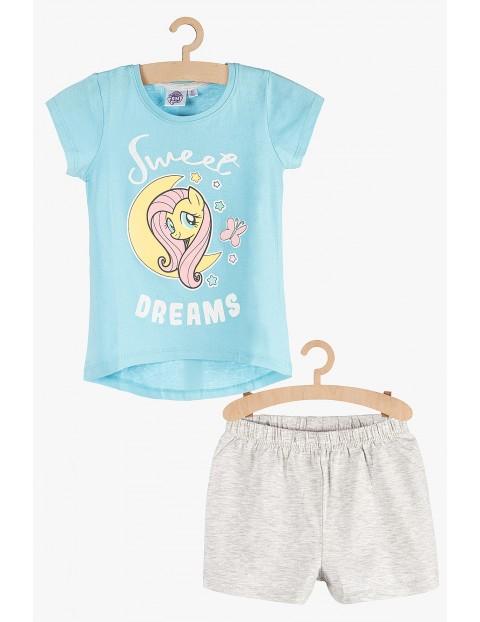 Pidżama dziewczęca niebiesko-szara - My Little Pony