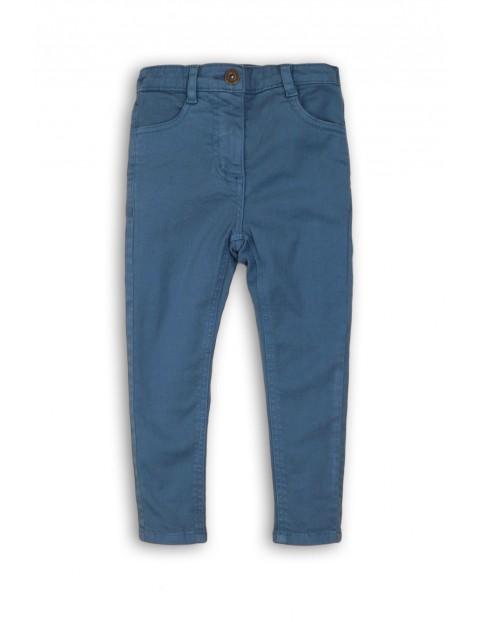Spodnie dziewczęce- niebieskie rurki