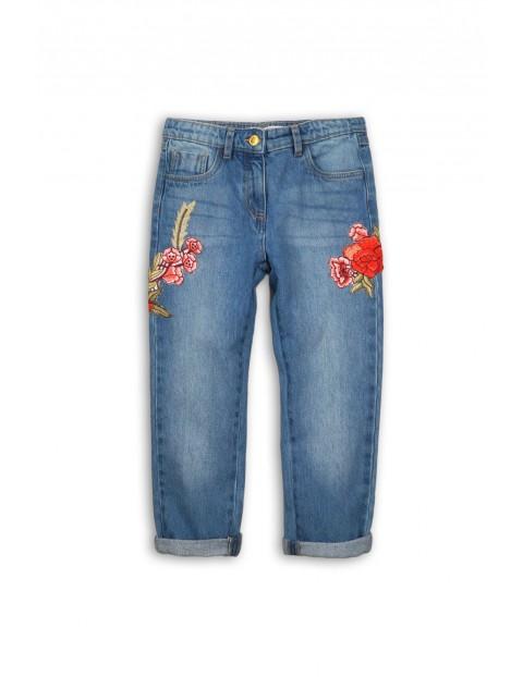 Spodnie dziewczęce jeansowe 3L34A4