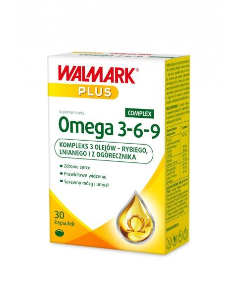 Omega 3-6-9 - suplementy diety - 30 kapsułek
