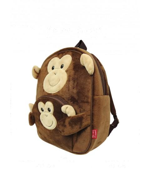 Plecak Pluszowy Małpka wiek 2+