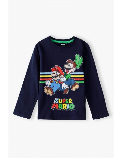 Bluzka chłopięca bawełniana Super Mario