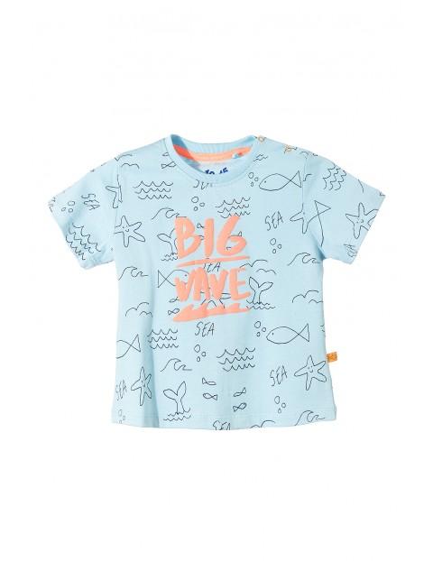 T-shirt niemowlęcy 100% bawełna 5I3405
