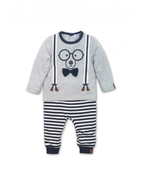 Komplet dresowy niemowlęcy- spodnie i bluza