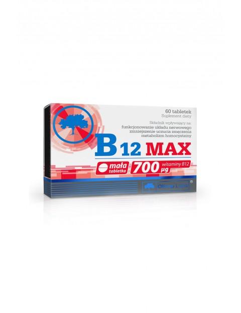 B12 MAX suplement diety 60 tabletek