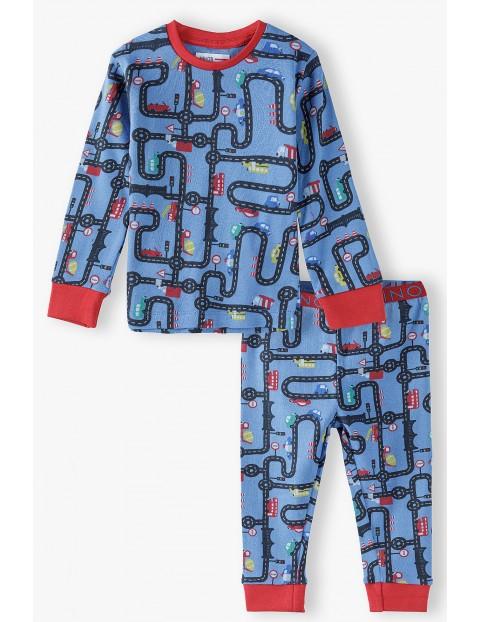 Bawełniana piżama chłopięca