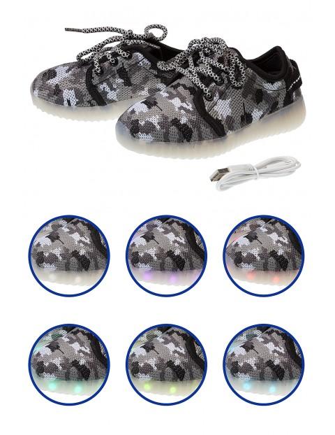 Buty z podświetlaną podeszwą 2Z3407