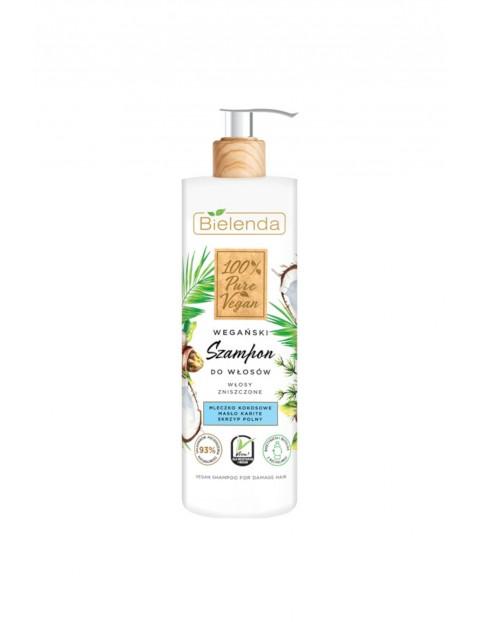 100% PURE VEGAN Wegański szampon do włosów - WŁOSY ZNISZCZONE - 400g