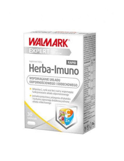 Herba imuno rapid - 30 tabletek