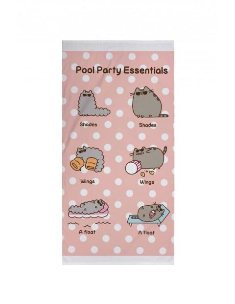 Ręcznik kąpielowy bawełniany Pusheen 70x140cm