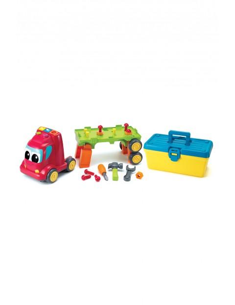 Zabawka- grająca ciężarówka z warsztatem wiek 18-36msc