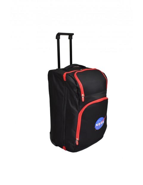 Torba trolley NASA czarno-czerwona
