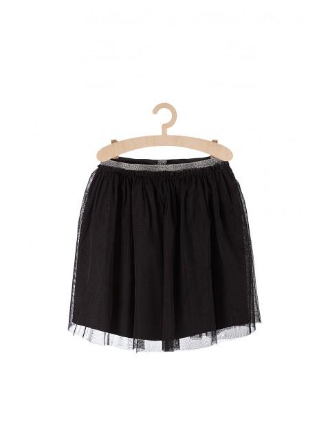 Spódnica dziewczęca tiulowa-czarna
