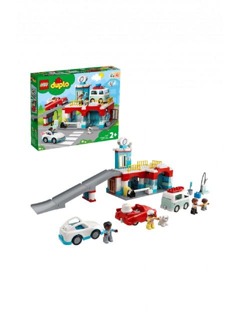 LEGO® DUPLO® Parking piętrowy i myjnia samochodowa (10948) wiek 2+