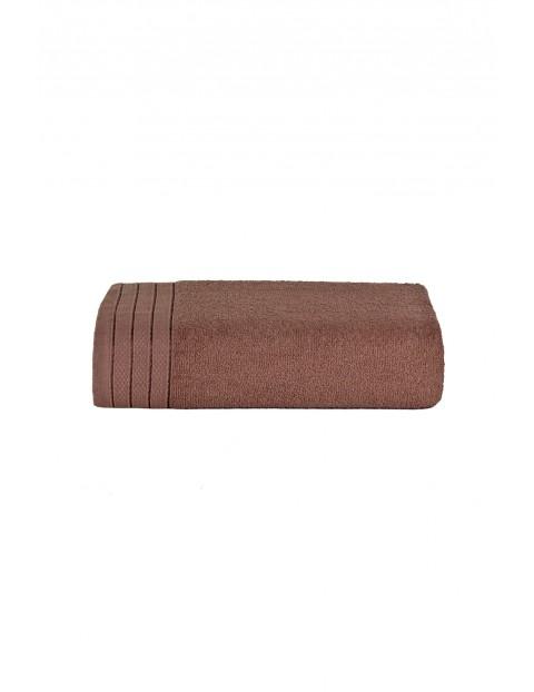 Bawełniany ręcznik brązowy 70x140 cm