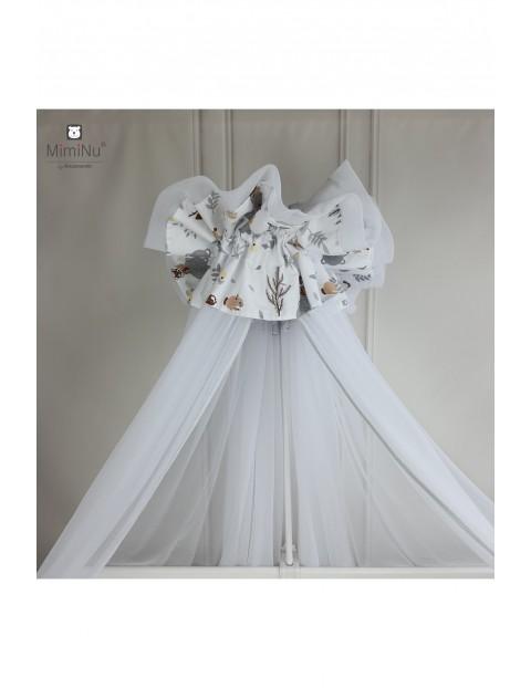 Baldachim - moskitiera tiulowa 400x170 cm - Leśni Przyjaciele